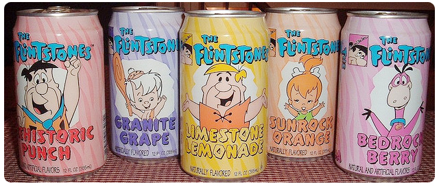 flintstones soda drink