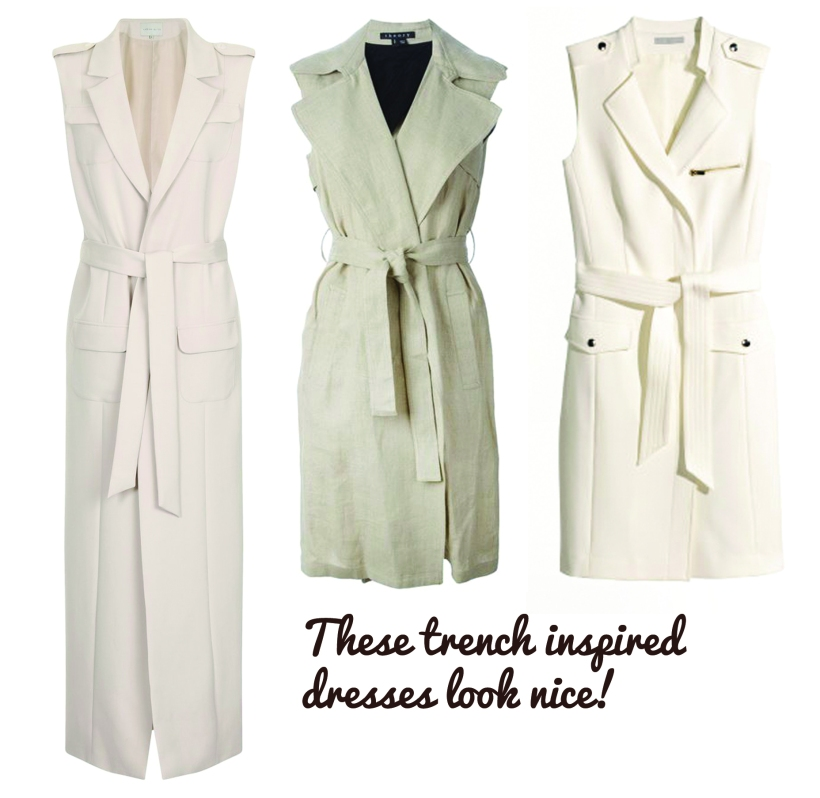trench coat inspired!